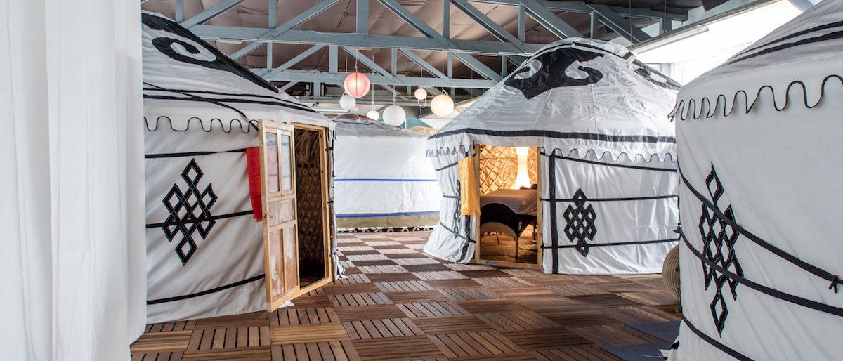 Permalink to: Uniek! Behandelingen in een Yurt